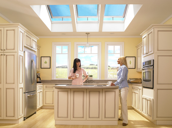 And Since Skylights Donu0027t Take Up Wall Space Like Vertical Windows, More  Space Is Available For Shelves Or Cabinets, Or For Decorating.