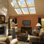 Home with Skylights