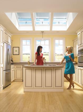 Clear Vue Skylights | Kitchen Skylights