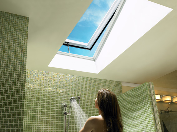For The Ultimate In Convenience Electric Venting Skylights Are Available With Remote Control Blinds Shades Awnings Insect Screening And Automatic Rain