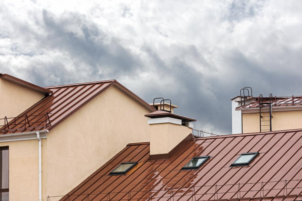 skylight leak rain